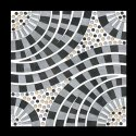 Ceramic Multicolor Parking Round Design Tiles, Tile Size: 30*30, Thickness: 8 - 10 Mm
