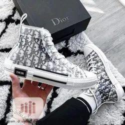 Men Party Wear Dior B-23 High Top Sneakers