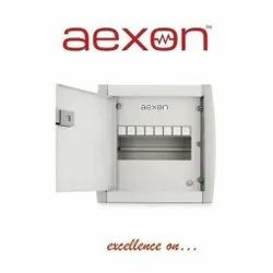 Aexon Mild Steel (MS) Electrical MCB Distribution Box, For Electric Fittings, 250x380 Mm