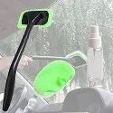 Windshield Microfiber Glass Window Cleaner