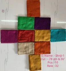 Jacquard fancy designer blouse fabric