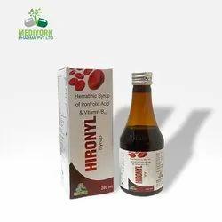 Hematinic Syrup of Iron Folic Acid And Vitamin B