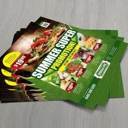 Paper Leaflet Flyer Printing Service, in Pan India