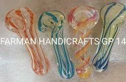Glass Spiral Smoking Pipe