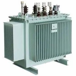 Three Phase Dry Type/Air Cooled Mild Steel Power Transformer, For Industrial, Input Voltage: 500 V