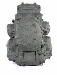 Gray Nylon 1600 Denier 100 L Survivor Gear Trekking Bag