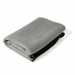 Plain Pink Waffle Weave Towel