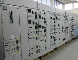 Electric Digital Mild Steel Control Panel, For Power Distribution, Ip 50