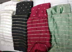 Royal Georgette Butti & Lining Embroidery Fabric