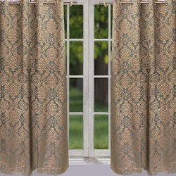 Self Design Curtains