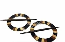 Round Shape Wooden Tieback for curtain