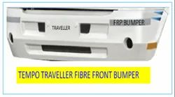 Grey Stainless Steel Tempo Traveller Front Bumper Guard