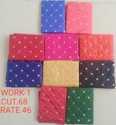 Work-1 Jacquard Blouse Fabric