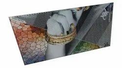 Digital Printed Glass, Size: 8 Feet X 12 Feet