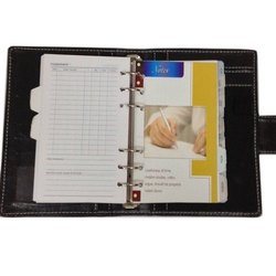 Leather Organizer Diary, Daily, Paper Size: A5