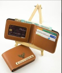 Customized Leather Wallet, Size/Dimension: 12 X 8.6 X 1.5 Cm