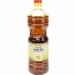 Cold Pressed Patanjali 200 ML Mustard Oil, Packaging Type: Plastic Bottle