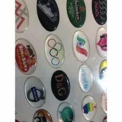 3D Dome Labels