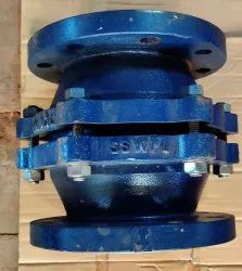 PFA/FEP LINED CHECK VALVE-BALL TYPE