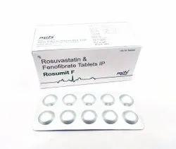 Rosuvastatin And Fenofibrate Tablets.