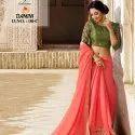 Spun Cotton Jacquard With Fancy Blouse Catalog
