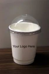 Paper Cup With Dome Lid