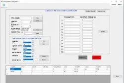 LAN PC Based RS485 Energy Meter Modbus Master Software, For IOT