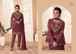 Kaara Suits Dulhan Vol 14 Georgette With Heavy Embroidery Work Party Wear Suits Trader