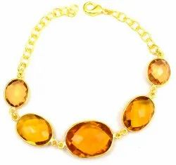 Citrine gemstone Stylish Bracelet