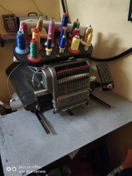 Used Single Head Embroidery Machine AMMYA brand