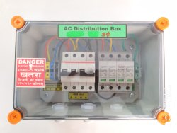 SMS Solar ACDB 6-10 KW Three Phase (MCB Box), For Industrial