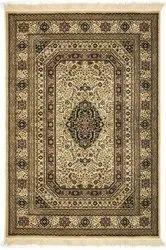 Bedroom kashmiri silk Carpet, Size: 6x9 Feet
