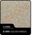 G-500 Golden Ribbon PVC Laminated Gypsum Ceiling Tiles