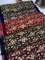 Velvet Sequins Embroidery Fabrics- 9000