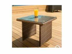 Wonderweave Synthetic Wicker Tea Table St 06, For Pool Side Area, garden