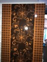 Decorative Single Panel PVC Door