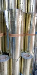 Plain Emboz Batakanu Silver Paper Roll, For Packaging, 80 - 120