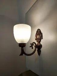 Pure White Aluminium 8 Inch Wall Mount Light