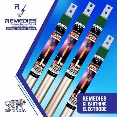 GI Earthing Electrode (Galvanized Iron)