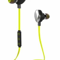 Wired Mobile Neckband Bluetooth Earphones
