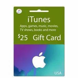 Itunes US Dollar Gift Card - 25 Dollar
