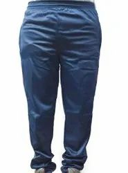 Blue Mens Polyester Sports Lower, Size: M-XXL