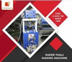 Automatic Hydraulic Paper Thali Machine