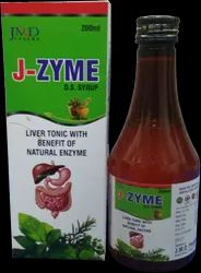 J Zyme Herbal Digestive Enzyme Syrup.