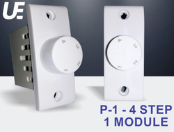 Usquare Electronics Rotator Switch P-1 - 4 Step 1 Module Fan Regulator ( Negotiable Prices)