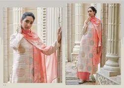 Fern By Omtex Varina Series V1-V8 Cotton Satin Digital Print Suits