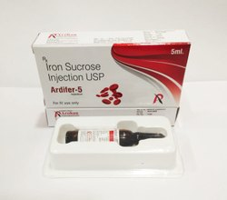 Iron Sucrose 5ml Injections