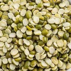 Green Split Chilka Moong Dal, High in Protein, Packaging Size: 50 Kg