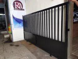 Mild Steel Black Compound Gate