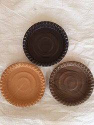 Brownish Sanmika Paper Plate Raw Material, Packaging Type: Carkel
